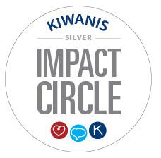 IMPACT CIRCLE Silver badge EN
